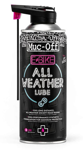 MUC-OFF E-Bike All Weather ketjuöljy 400 ml