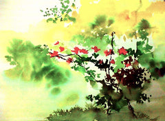 Begonia Painting For Sale - NeneArts