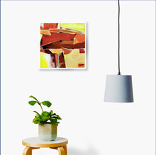 Load image into Gallery viewer, Abstract Acrylic Painting On The Wall Image - NeneArts