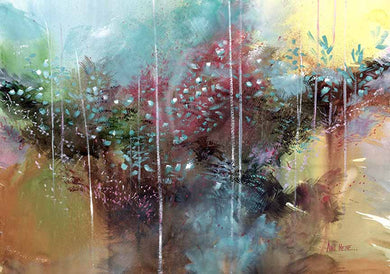 Abstract Reality Watercolor Painting For Sale-NeneArts.jpg