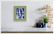 Load image into Gallery viewer, Blue Stream Digital Painting In Living Room-NeneArts