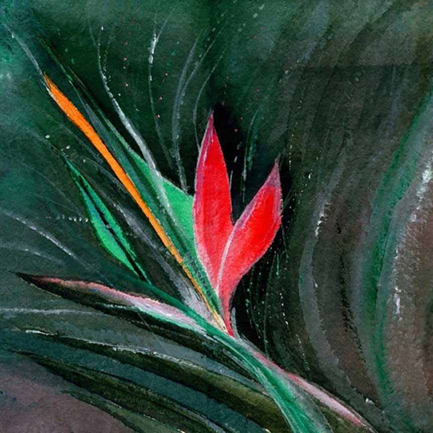 Budding Original Painting For Sale -NeneArts