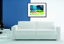 Load image into Gallery viewer, Garden Magic Art Print In Living Room-NeneArts