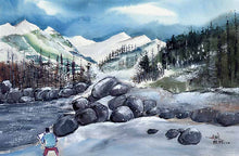 Load image into Gallery viewer, Manali 4 Himalaya Painting For Sale-NeneArts