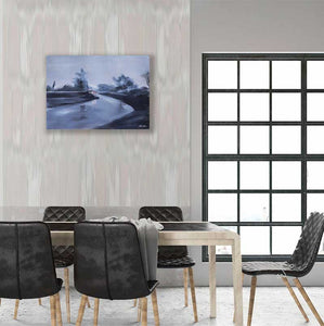 Rainy Day Artprint For Sale In Living Room-NeneArts