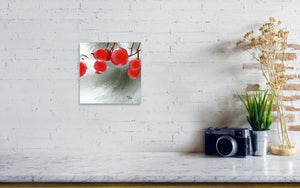 Red Fruits Painting ArtPrint In DiningRoom - NeneArts