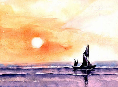 Sailing Mixed Media Artwork-NeneArts.jpg