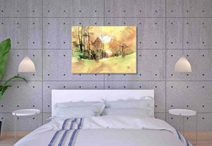 Welcome Spring Painting For Sale In Bed Room-NeneArts.jpg