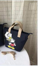 Load image into Gallery viewer, Disney Mickey Mouse Lady Canvas Crossbody Shoulder Bag