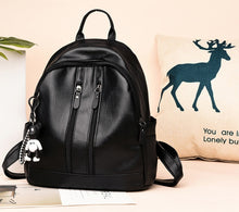 Load image into Gallery viewer, Women backpacks bag high quality PU leather