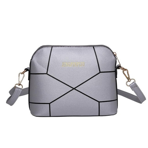 luxury Women Messenger Bags PU leather Stone