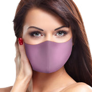 Solid Mauve Face Mask