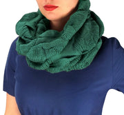 Cowl Neck Loop Scarf Winter Knit Thick Neck Warmer
