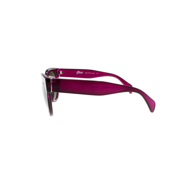 Jase New York Cosette Sunglasses in Bordeaux Red