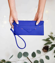 Delancey Wristlet Wallet - Royal Blue