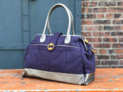 Cassia Weekender & Travel Bag - Indigo Purple