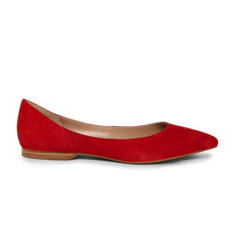 FALICIA RED SUEDE