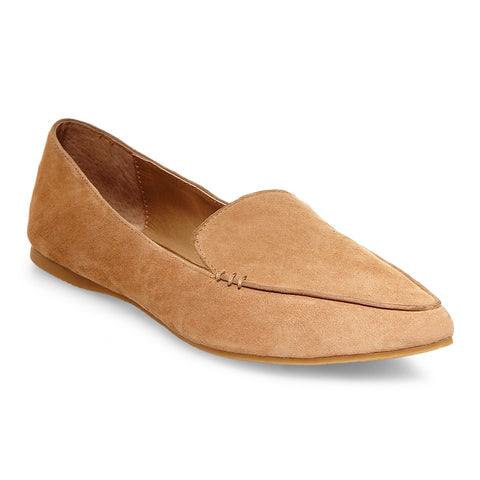 FEATHER TAN SUEDE
