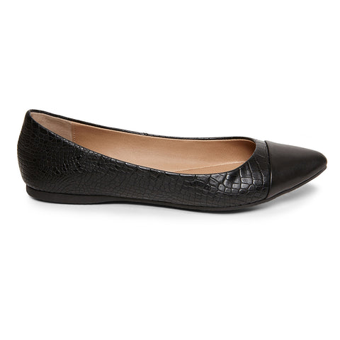 DELANCY BLACK CROCO