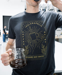 Original 'No More Bad Coffee' Tee