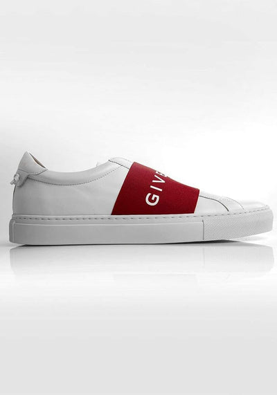 Givenchy Low-Top Slip-On Sneakers White and Red