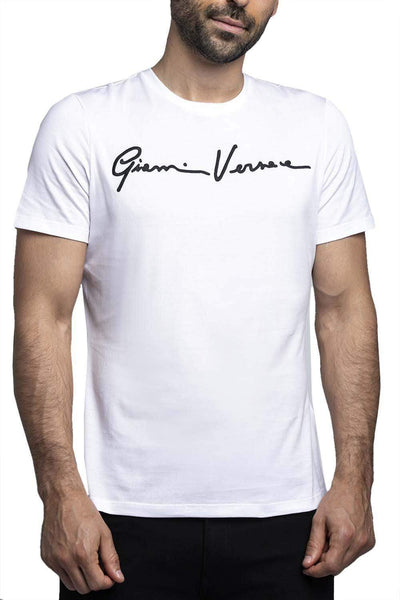 Versace Signature T-shirt White-Black