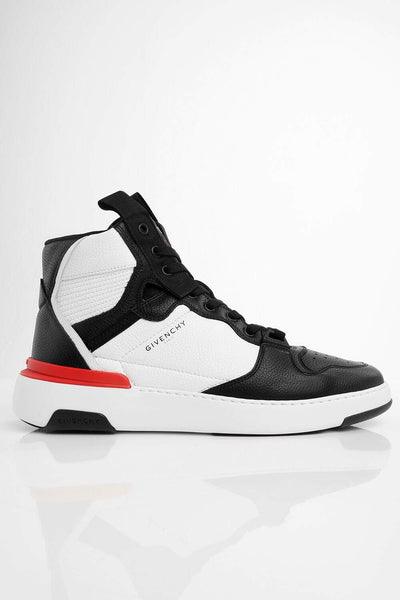 Givenchy High Top Leather Sneakers