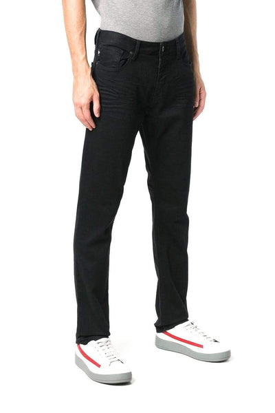 Emporio Armani Stretch Cotton Black Jeans