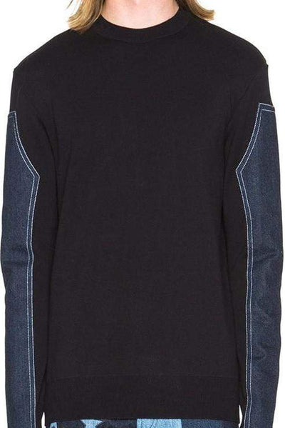 GIVENCHY MEN NAVY PULLOVER