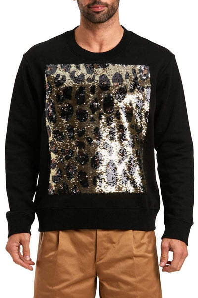 Just Cavalli Black Sweatshirt