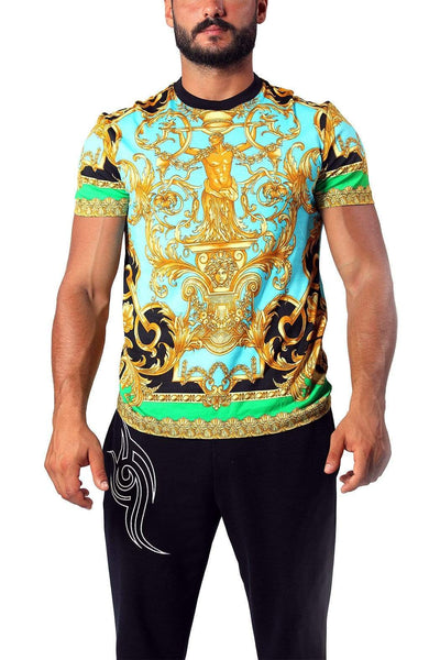 VERSACE PATTERNED Baroque T-shirt