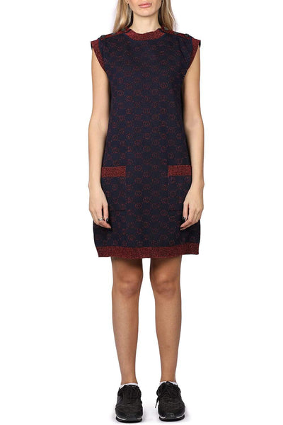 Gucci Knitted jacquard dress