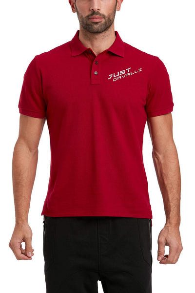 JUST CAVALLI Cotton Polo T-Shirt