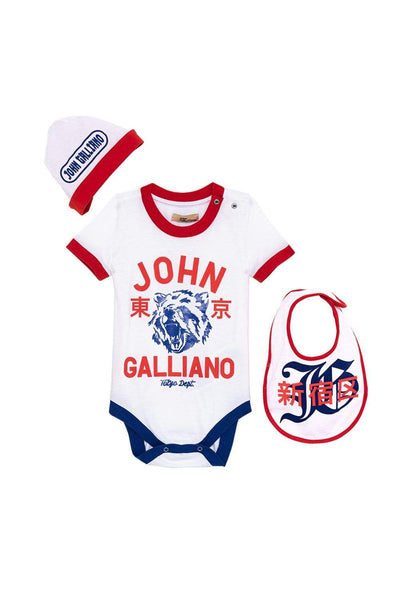 John Galliano Boy Onesie Set