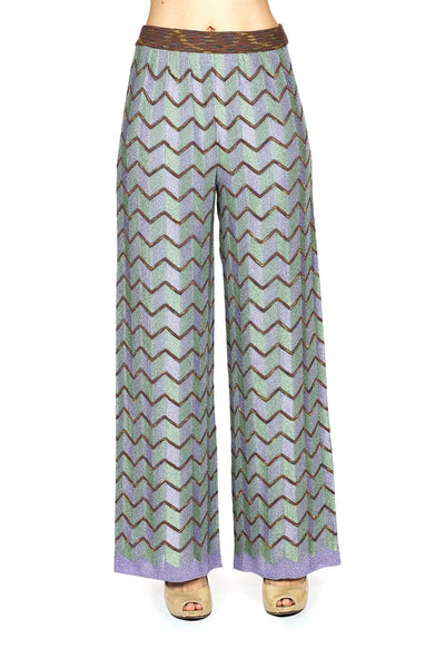 M Missoni Patterned Trousers