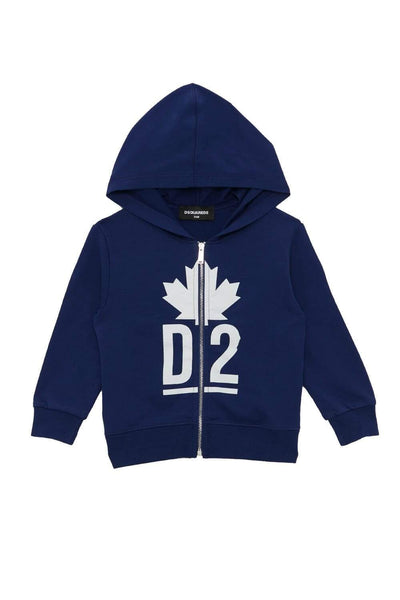 Dsquared2 Full-Zip Cotton Hoodie