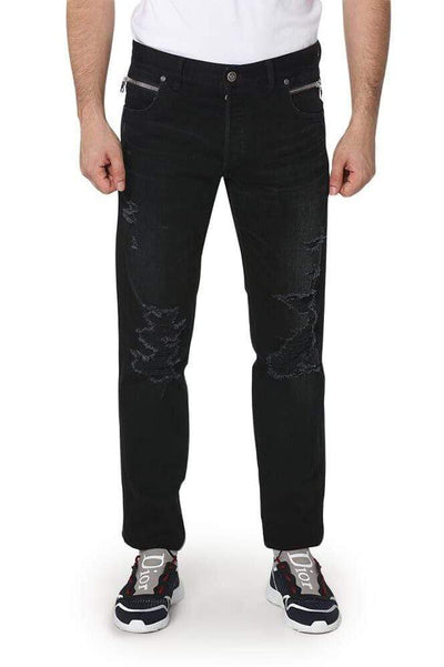 Balmain Distressed Jeans