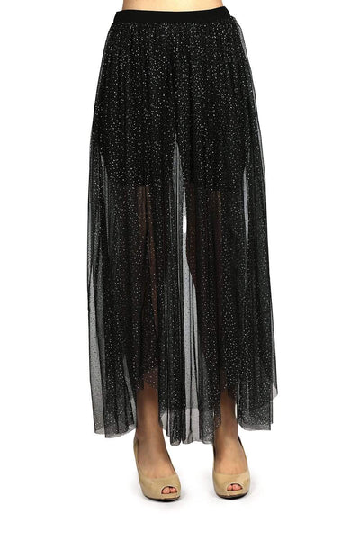 Kendall + Kylie Long Glamor Skirt