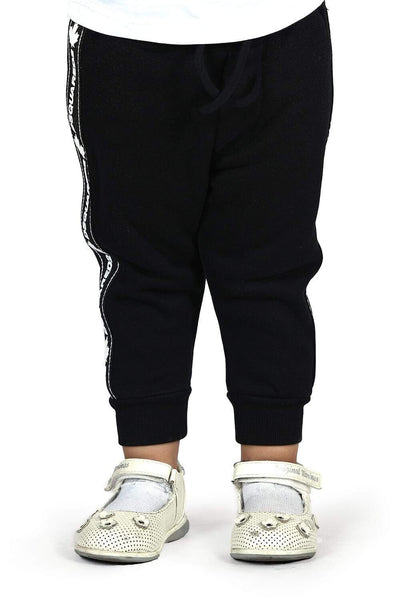 Dsquared2 Black Sweatpants For Boys