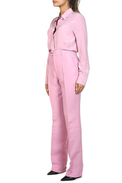 Gucci High-Waisted Straight-Leg Trousers