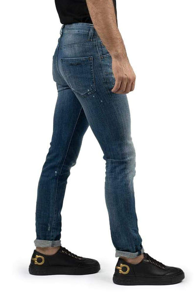 DSQUARED2 Washed Cuffed Jeans