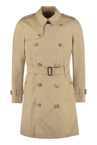BURBERRY Shoulder-Tab Beige Coat