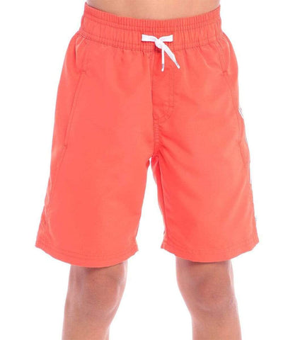 Hugo Boss Orange Neon Drawstring Shorts