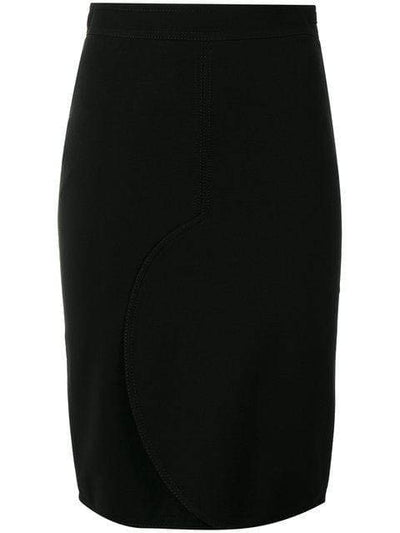 GIVENCHY BLACK PENCIL SKIRT