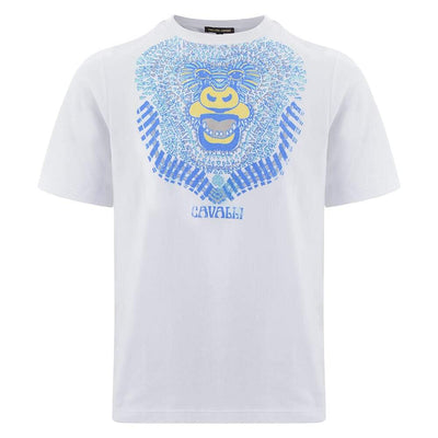 Roberto Cavalli Rebel Riffs Graphic T-Shirt