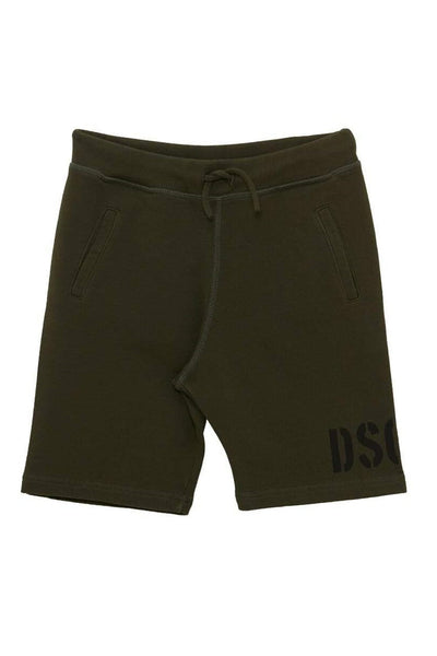 Dsquared2 Printed Cotton Shorts