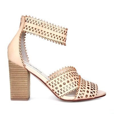 JEFFREY CAMPBELL BESANTE NATURAL CUT OUT HEELS
