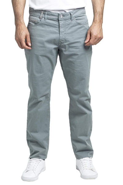 HARMONT & BLAINE Straight Silver Trousers