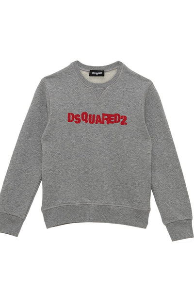 Dsquared2 Printed Cotton Sweater