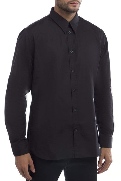 Givenchy Cotton Button-Up Shirt Black
